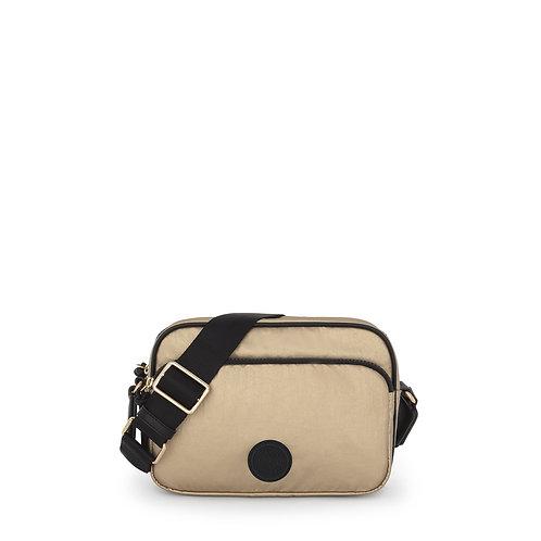 Doromy crossbody nylon bag Black