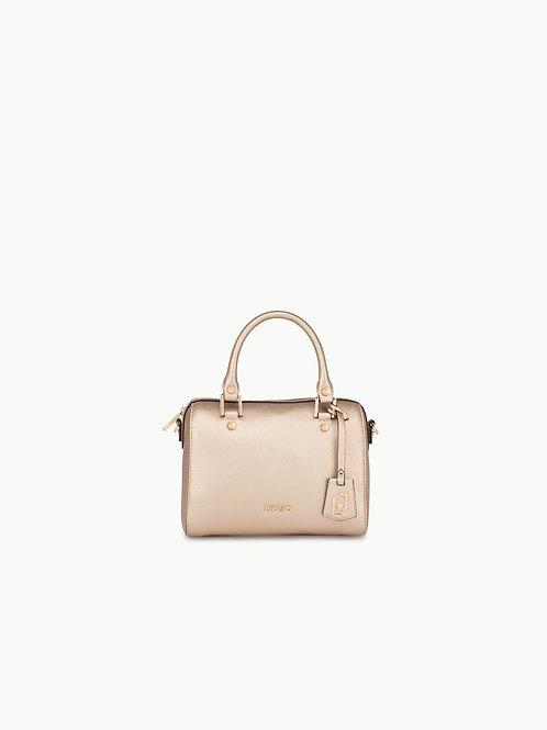 Boston Bag With Jewel Charm