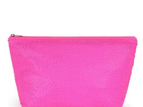 Bolsa média Kaos Shock Sequins Rosa Fluorescente