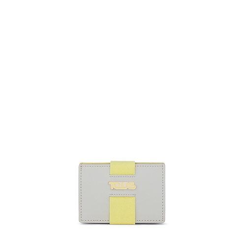 Carteira Pequena New Essence Prateado - Amarelo