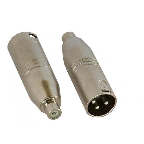 Adapter RCAf/XLRm