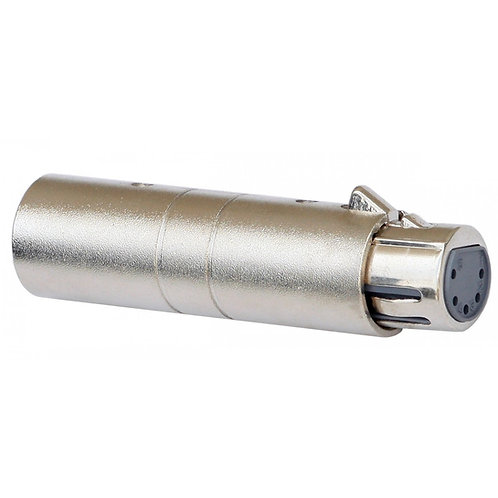 Adapter XLRmale 3P / XLRfem 5P