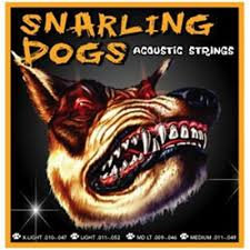 SNARLING DOGS ACOUSTIC STRINGS  GUITAR