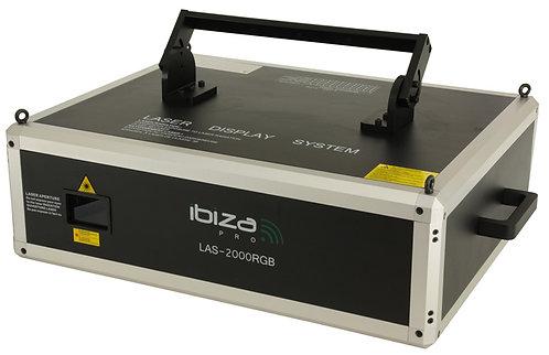 IBIZA LAZER LAS 2000 RGB