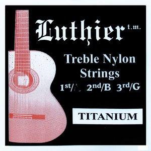 LUTHIER TREBLE NYLON STRINGS TITANIUM