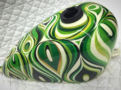 New Paint!!♪♪♪ New marble♪♪♪ #420kustoms