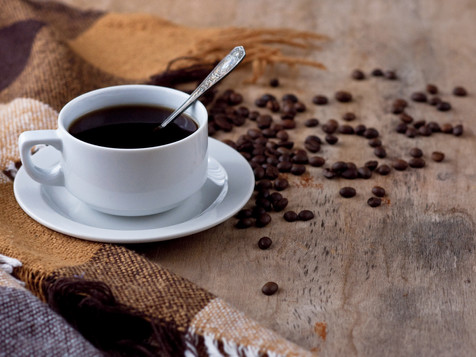 A cup of coffee Black coffee hot drink G