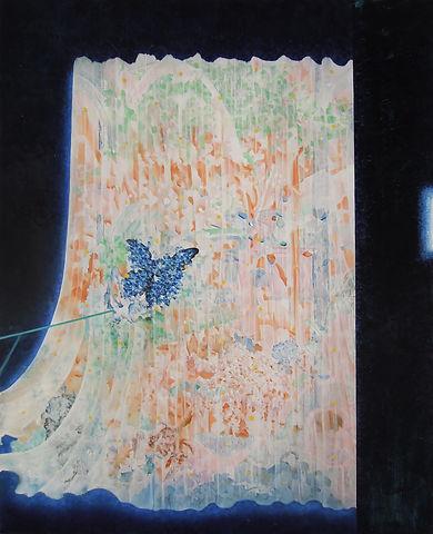 〈穿越水晶花園〉,2021,油彩、畫布,65×53(cm).jpg