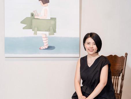 跳脫上班人生,走出自己的藝術路 — 專訪藝術家張為雲 Wei Yun Chang