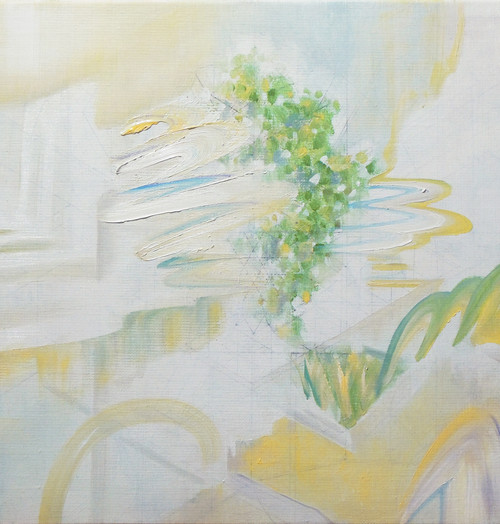 〈結晶樹2〉,2020,30.0×30.0(cm),油彩、畫布.jpg