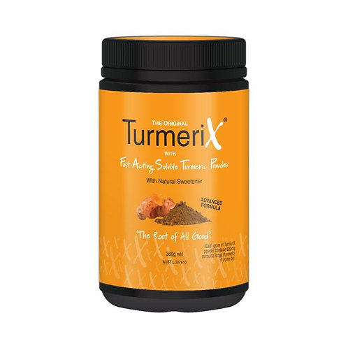 TurmeriX Soluble Turmeric Powder 360g Tub - 4 months supply