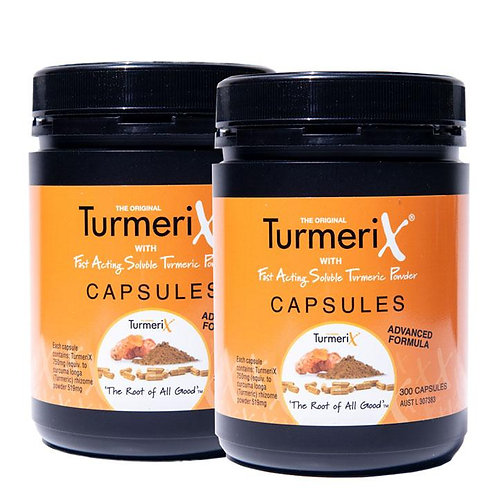2 x TurmeriX Capsules 300's - 3 months supply
