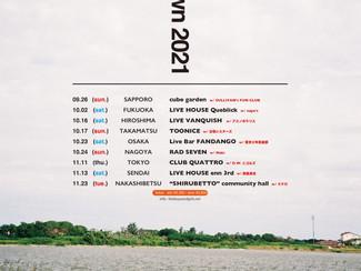 "new!!!【イベント出演情報】11/11(木) THE BOYS&GIRLS ""town to town 2021"" 渋谷CLUB QUATTRO出演決定!※7/22更新"