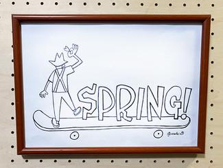 【CRAFT WORKS PROJECT 】「わたなべだいすけ個展開催への道」始動!「MR.SUSPENDER SPRING-T」4/11(日)18:00より注文受付開始!