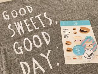 【NEWS】わたなべだいすけが描いた、和む菓子「なか又」の新イメージ「GOOD SWEETS, GOOD DAY.」が公開!