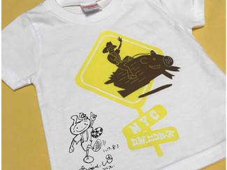 【夏休みスペシャル企画!】わたなべ画伯のイラストTシャツ販売 in ミュージコフェスト
