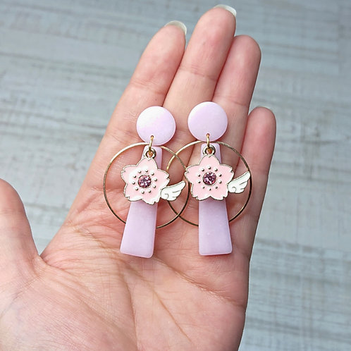 Boucles d'oreilles Magical Girl sakura