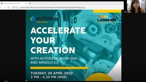 "Webinar Autodesk Maya ""Accelerate Your Creation"""