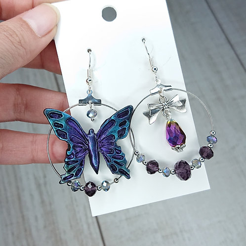 Copie de Boucles d'oreilles Papillon #2