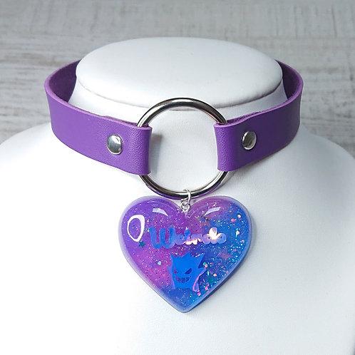 Choker violet Ectoplasma Weirdo