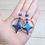 Thumbnail: Boucles d'oreilles galaxy Etoiles
