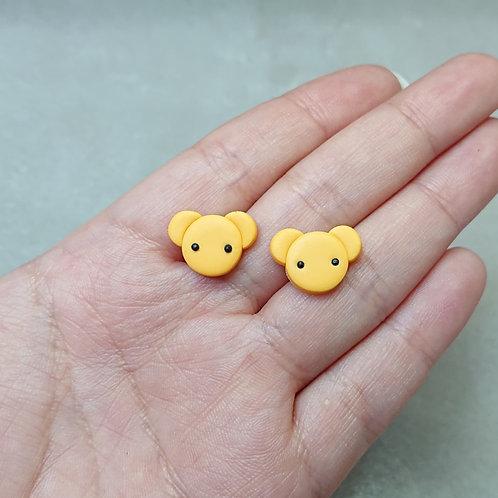 Boucles d'oreilles puces Kero