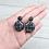 Thumbnail: Boucles d'oreilles Grille Ronds