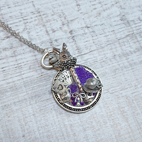 Collier Alice Lapin violet
