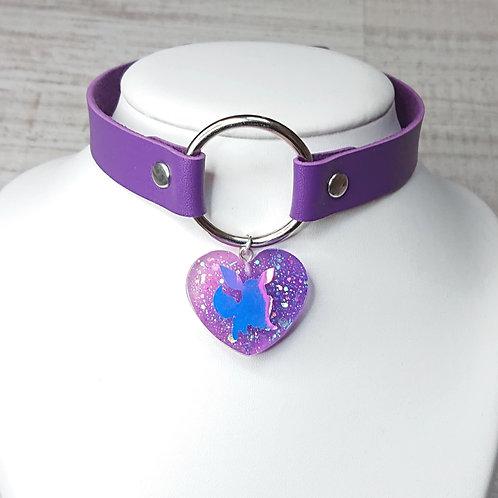 Choker violet Evoli