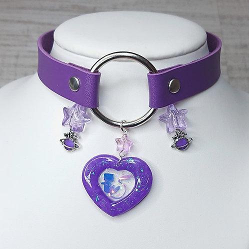 Choker violet Mew