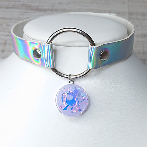 Choker holographique Mewtwo