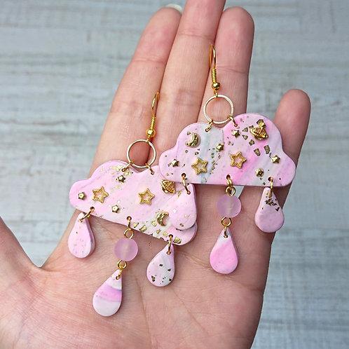 Boucles d'oreilles Doux Nuages