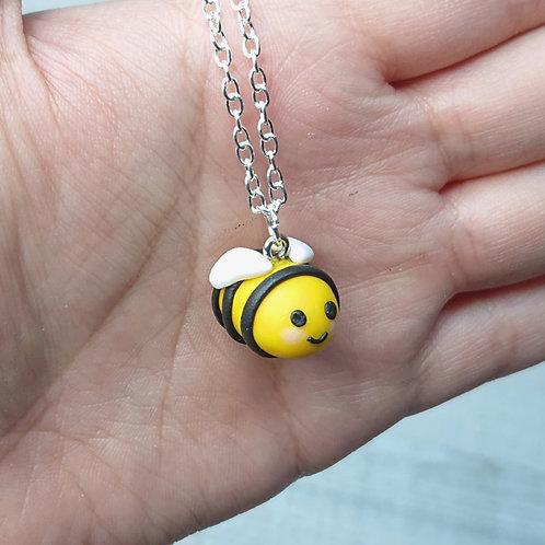 Collier BeeBee abeille kawaii