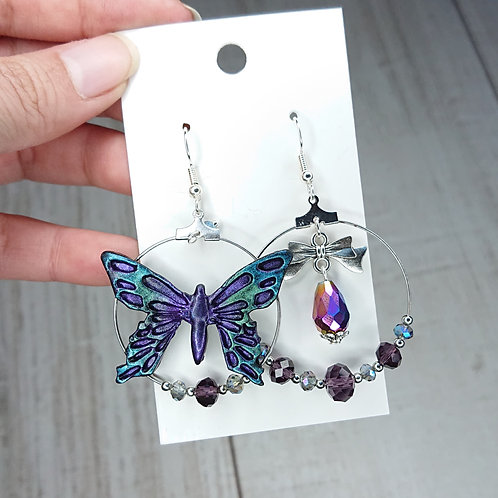 Boucles d'oreilles Papillon #1