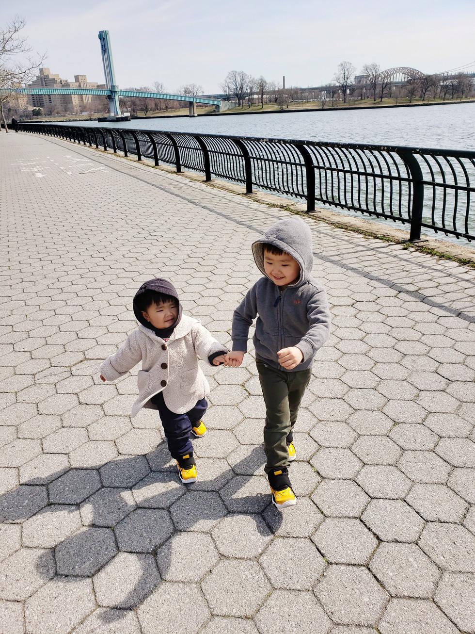 Running at Randall's Island