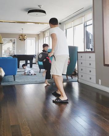 Kicking Combination Training