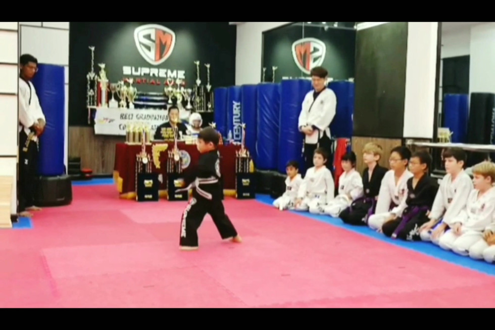 Poomsae Demonstration