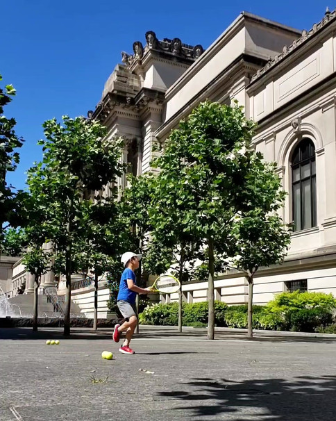 Continued Practice at the MET during COVID-19 when all the courts were closed