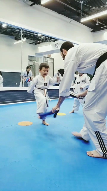 Kicking Combination Drill