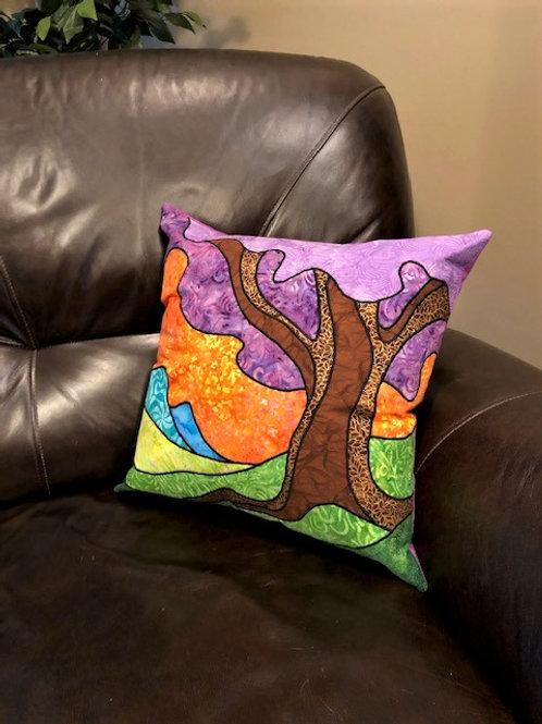 Windy Tree Pillow