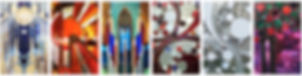 Collage of stained glass windows
