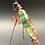 Thumbnail: Ivy Green Iridized Praying Mantis