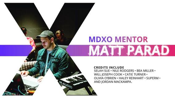 MDXO MENTOR | MATT PARAD