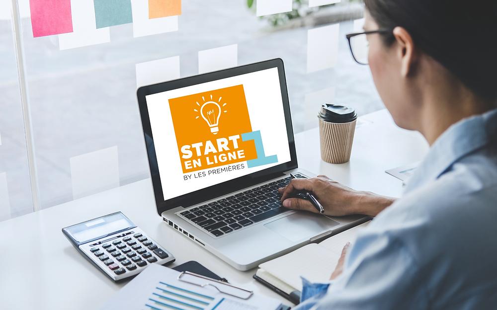 Start-1ère en ligne, formation création entreprise par Les Premières Sud