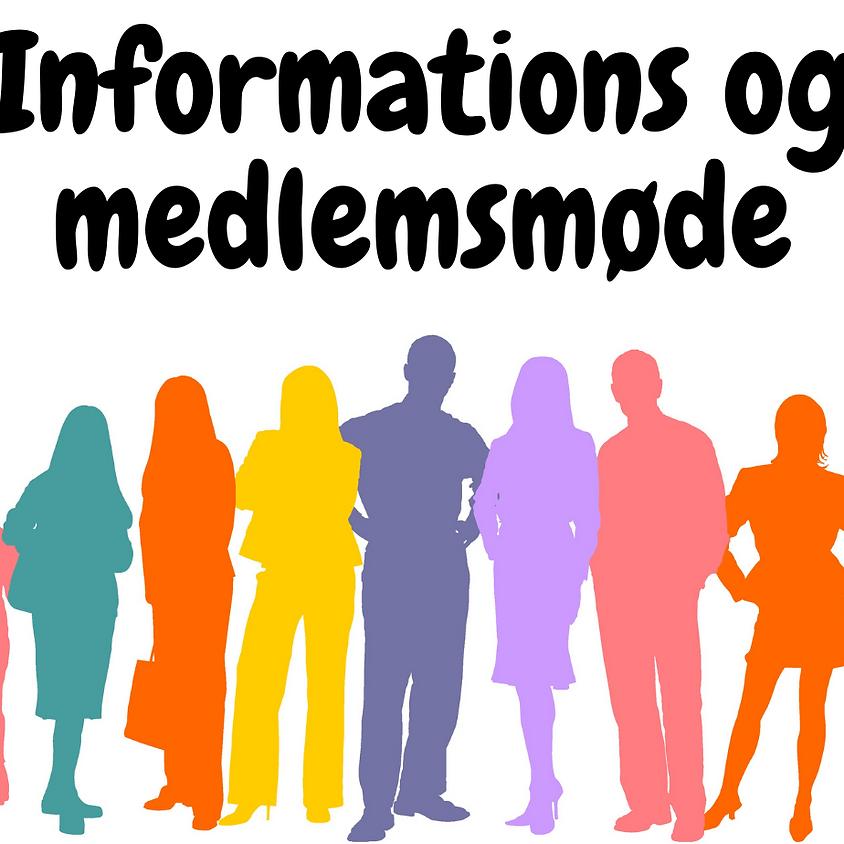 Informations- og medlemsmøde med besøg af daglig ledelse! Fyn er fin!