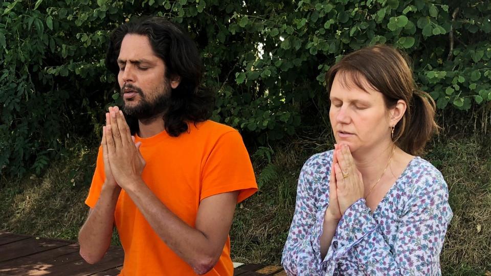 Jnandev and Deepika