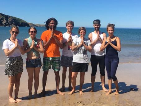 Key Yoga Sutras with Yogachariya Jnandev, and 300hrs YTT intensive Group