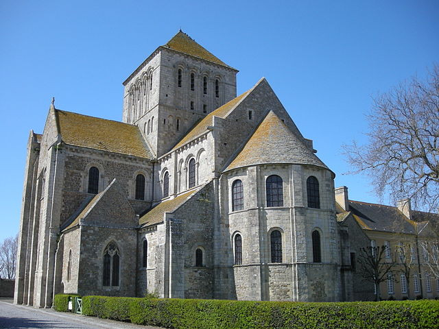 Lessay Abbey Church Normandy