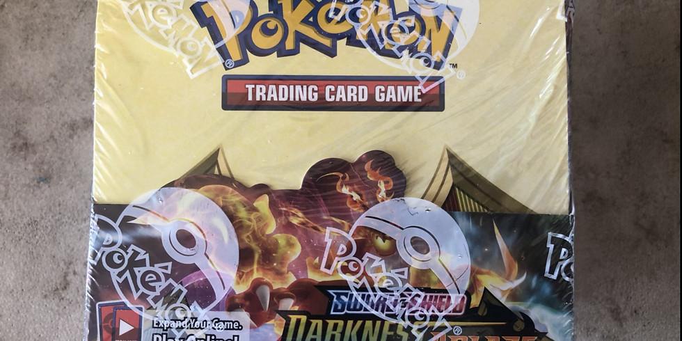 Pokemon SSH Darkness Ablaze LIVE Booster Box Break (36 packs)