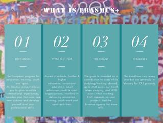 WHAT IS ERASMUS+